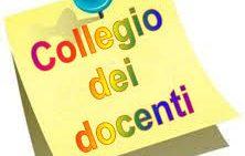 convocazione Collegio dei docenti 15 maggio
