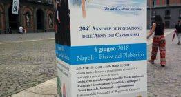 Volino Piazzi e G. Arcoleo  alla festa dei Carabinieri