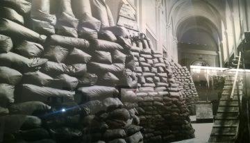 Visita alla Mostra fotografica su Napoli durante l seconda guerra mondiale