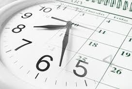 Orario delle lezioni dal 21 ottobre al 3 novembre