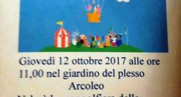 Invito per il giorno 12 ottobre ore 11 giardino plesso Arcoleo