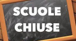 Chiusura scuola giorno 12 marzo 2019
