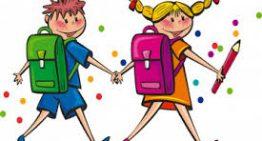Entrata e uscite delle classi a partire dal giorno 28 settembre 2020