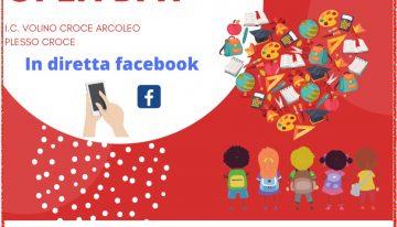 Open day scuola media 21 dicembre ore 16 diretta Facebook