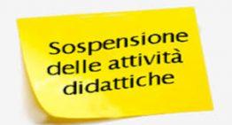 Proroga sospensione attività didattiche in presenza