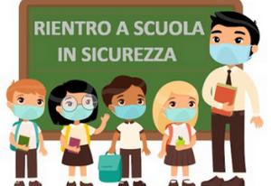 Protocollo d'intesa per garantire l'avvio dell'anno scolastico nel rispetto delle regole di sicurezza per il contenimento della diffusione di Covid 19 (a.s. 2021/22)
